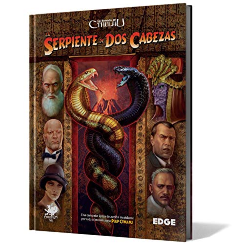 Edge Entertainment-La Llamada de Cthulhu-La Serpiente de Dos Cabezas, Color (EECHCT07)