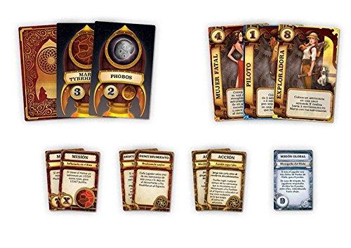 Edge Entertainment - Misión: Planeta rojo, juego de mesa (EDGVA93) , color/modelo surtido