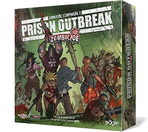 Edge Entertainment - Zombicide Temporada 2 : Prison Outbreak (EDGZC03) , color/modelo surtido