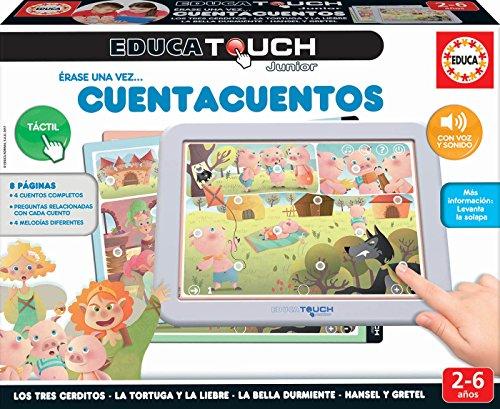Educa - EducaTouch Junior: Érase una Vez… Cuentacuentos 2, con música y canciones, juego educativo para niños, a partir de 24 meses (17952)