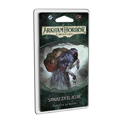 Fantasy Flight Games- Arkham Horror LCG - Sangre en el Altar - Español, Color (FFAHC05)