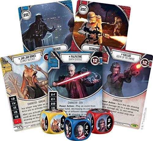 Fantasy Flight Games ffgswd11Star Wars Destino Legados Booster Display Juego Set,versión Inglesa