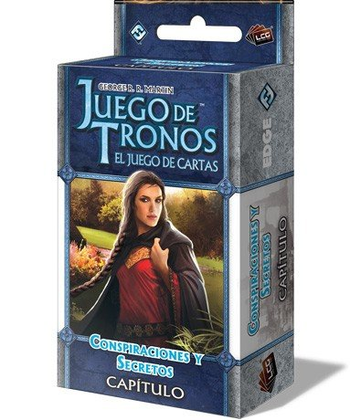 Fantasy Flight Games- Juego de Tronos LCG: Conspiraciones y Secretos - Español (EDGGOT108)