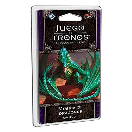 Fantasy Flight Games- Juego de tronos lcg: música de dragones - español, Multicolor (FFGT34) , color/modelo surtido