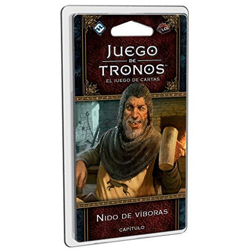 Fantasy Flight Games- Juego de Tronos LCG - Nido de víboras - Español, Color (GT48ES)