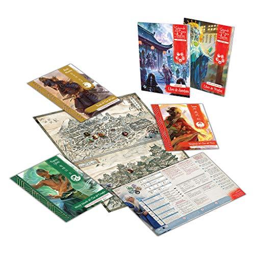 Fantasy Flight Games-La Leyenda de los Cinco Anillos Caja de Inicio, Color (L5R01ES)