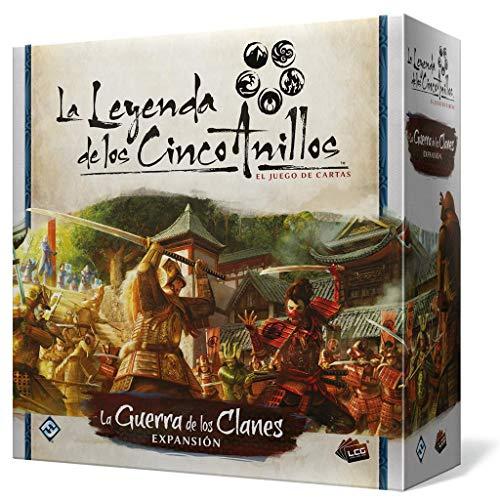 Fantasy Flight Games-La Leyenda de los Cinco Anillos LCG-La Guerra de los Clanes, Color (L5C28ES)
