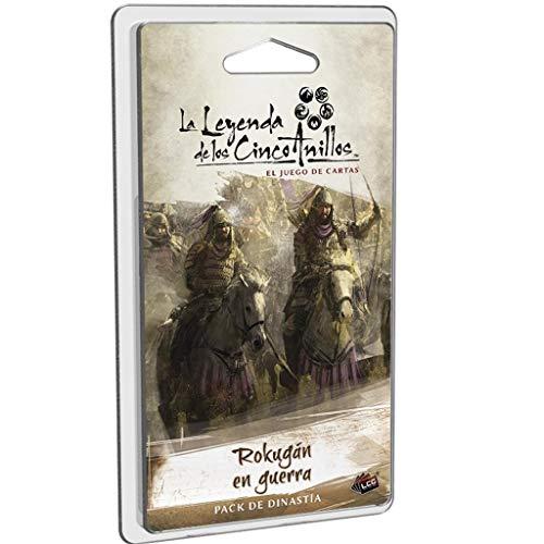 Fantasy Flight Games-La Leyenda de los Cinco Anillos LCG-Rokugán en Guerra, Color (L5C29ES)