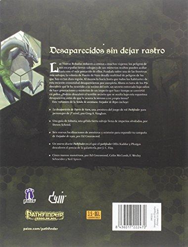 Forjador De Reyes 3. La Desaparición De Fuerte Varn (Pathfinder)