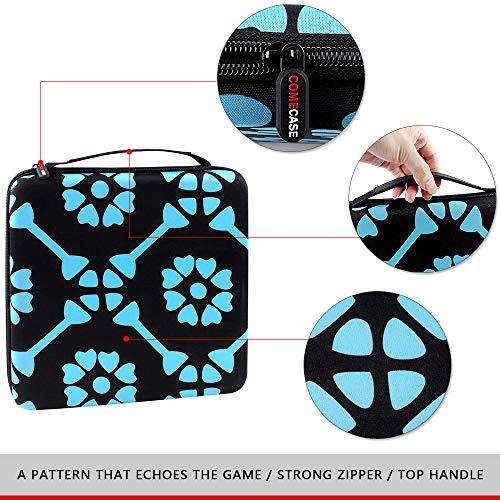 Funda rígida Compatible con Juegos de Mesa Plan B Games PBG40020, Ideal para Viajes, Uso Diario, Color Negro