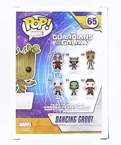 Funko Pop!- Bailando Figura de Vinilo Dancing Groot, colección Guardians of The Galaxy, Multicolor (5104)