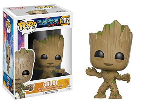 Funko - POP! Vinilo Colección Guardianes de la Galaxia - Figura Groot (13230)