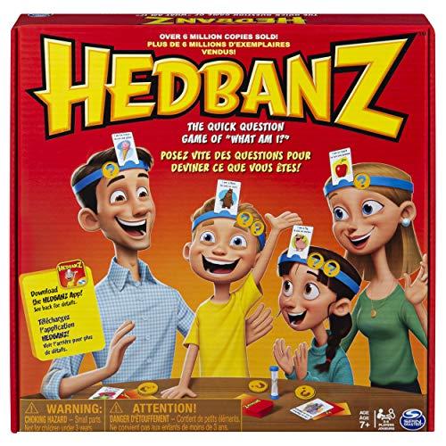 Games Spin Master - Hedbanz, Juego de Preguntas, versión en inglés [Importado de Inglaterra]