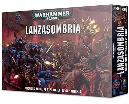 Games Workshop Warhammer 40000: Lanzasombría (Castellano)