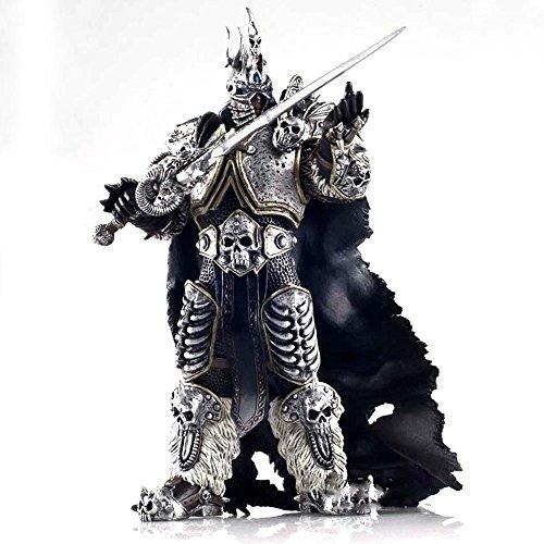 H¨¦roes de la tormenta World of Warcraft Rey Ex¨¢nime Arthas Caballero de la Muerte Frostmourne colecci¨®n figura de acci¨®n de Modelo 7 ''