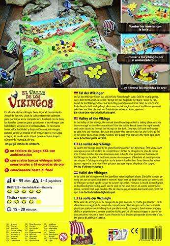 HABA- Juego de Mesa, El Valle de los Vikingos, Multicolor (Habermass H304700)