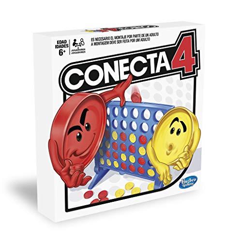 Hasbro Gaming Juego de Habilidad Conecta 4, Multicolor, única (A5640B09)