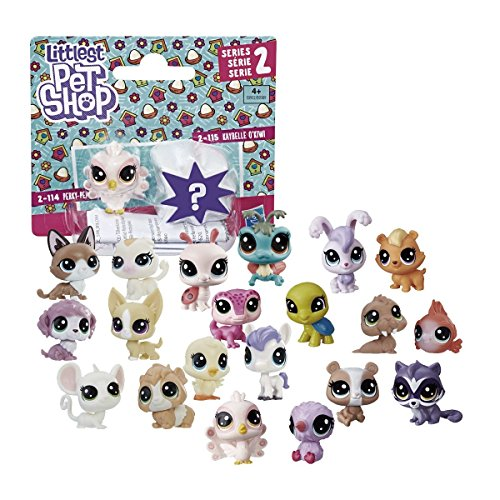 Hasbro Little Shop Pet Pack 2, Multicolor (9389B), modelos aleatorios