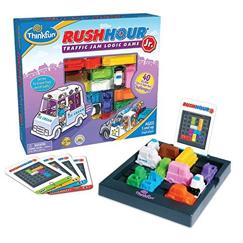 Juego Rush Hour de Thinkfun, Juego de lógica, temática de atasco de tráfico, para niños
