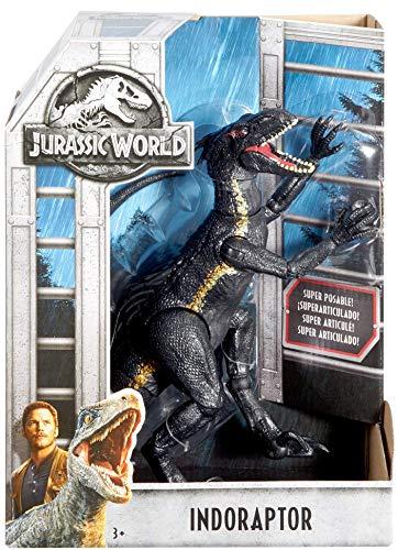Jurassic World Dino-Villano, dinosaurio de juguete (Mattel FVW27)