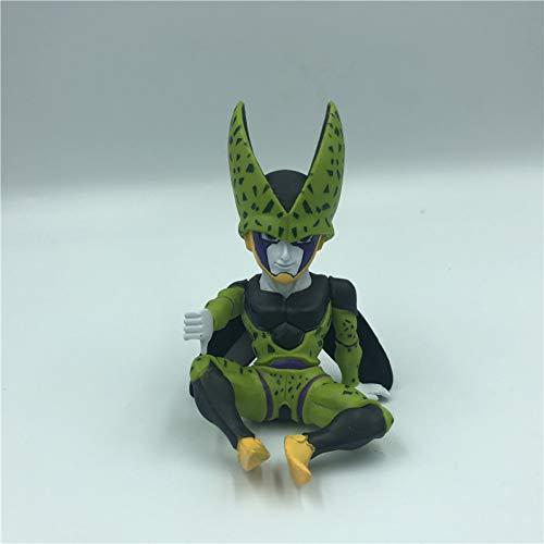 KVSW Nice Frieza Ultimate Action Figure Sitting Goku Combat Soldier Super Saiyan Doll Doll Modelo de Juguete