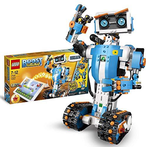 LEGO Boost - Caja de Herramientas Creativas, Set de Construcción 5 en 1 con Robot de Juguete para Programar y Jugar , color/modelo surtido