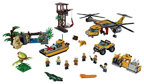 LEGO City 60162Jungla de alimentación helicóptero construcción Juguete