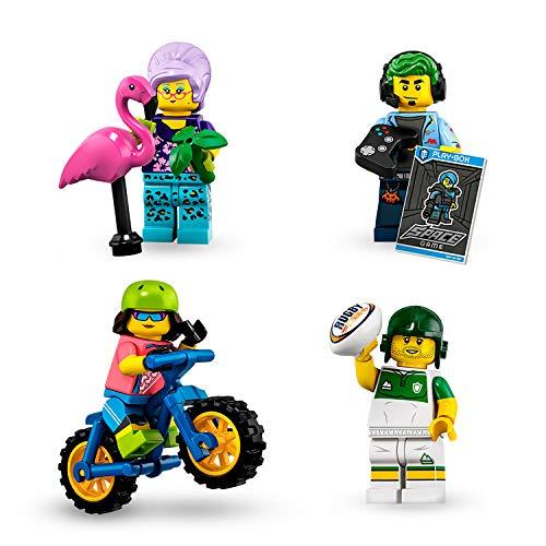 LEGO Minifigures - 1 Sobre de Minifigura de la Edición 19, Juguete de Construcción Coleccionable de Minifigura con Diferentes Modelos, Cada Sobre Sorpresa Contiene un Personaje Diferente (71025)