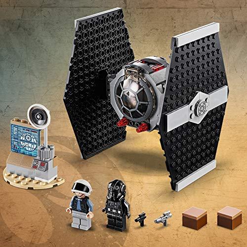 LEGO Star Wars TM - Ataque del Caza TIE, juguete divertido de construcción de nave espacial de la Guerra de las Galaxias (75237)