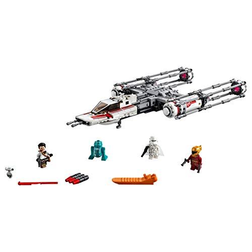 LEGO Star Wars TM - Caza Estelar Ala-Y de la Resistencia, Juguete de Construcción de Nave Espacial de la Guerra de las Galaxias Episodio IX: El Ascenso de Skywalker, A partir de 8 años (75249)