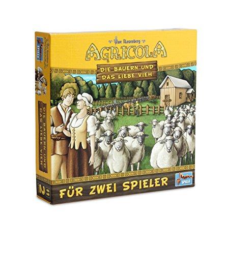 Lookout Games 22160050–Agricola–Los Campesinos y el Amor Ganado, de 2Jugadores de Parte de Uwe Rose Montaña