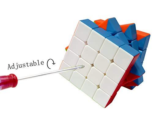 Maomaoyu Cubo Magico 4x4 4x4x4 Original Puzzle Cubo de la Velocidad Niños Juguetes Educativos, Stickerless