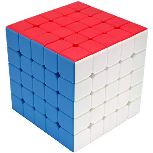 Maomaoyu Cubo Magico 5x5 5x5x5 Original Puzzle Cubo de la Velocidad Niños Juguetes Educativos, Stickerless