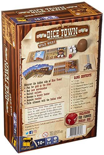 Matagot SAS MATSDIC2 Dice Town Expansion: Wild West