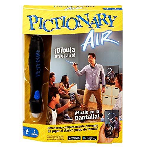 Mattel Games- Pictionary Air, Juego de Mesa en español (GPL50)