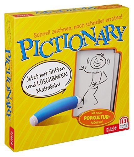 Mattel Games Pictionary Juego de Mesa de Palabras - Juego de Tablero (Juego de Mesa de Palabras, Niño/niña, 8 año(s))