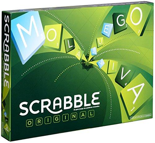 Mattel Games - Scrabble Original, Juego de mesa para adultos y para niños a partir de 10 años (Y9594) , color/modelo surtido