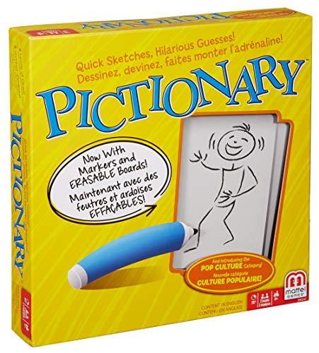 Mattel Pictionary - Juego de Tablero
