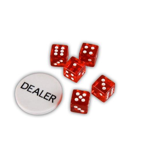 Maxstore Ultimate Black Edition Poker Set, 300 Chips de láser núcleo de Metal de 12 Gramos Tarjetas PLÁSTICAS, póquer, Set, fichas de póquer, Maletas, fichas