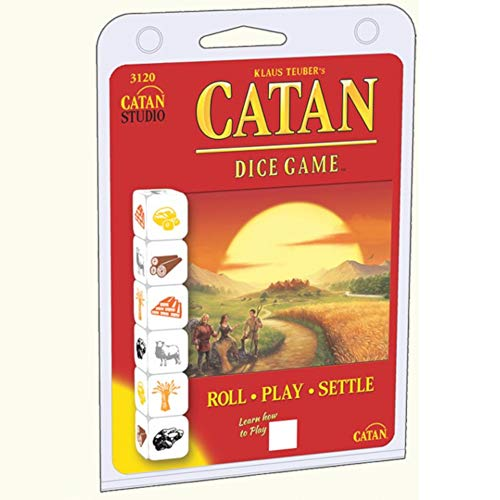 Mayfair Games mfg03120 – Tabla de Juegos, Catan Dice Clamshell Edition