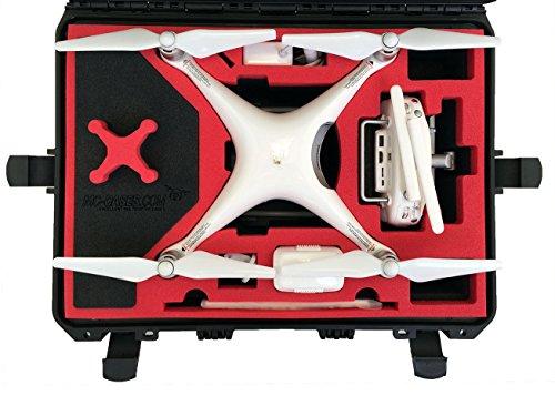MC-CASES® Maleta de transporte adecuado para DJI Phantom 4 Professional Plus (Display) V2.0 750869333381 negro