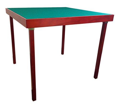 Mesa para jugar a las cartas o al bridge, plegable y portátil