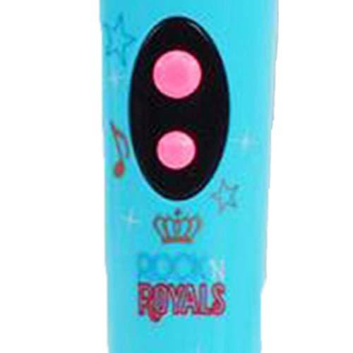 Micrófono Juguete Divertido Modelo de micrófono inalámbrico Regalo Música Karaoke Lindo Mini Diversión Juguete para niños Regalo Educativo Aprendizaje Juguete Candybarbar Azul + Caja de Color #