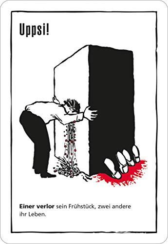 Moses Black Stories 5 Nach 12 Edition-Juego de Cartas (edición 50 Unidades), Color Negro, carbón (109754)