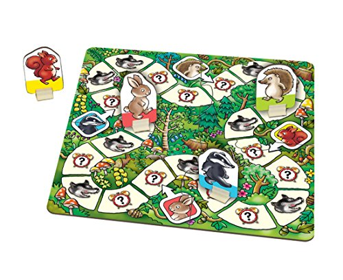 Orchard Toys - Juego de Mesa «What's The Time, Mr Wolf?»