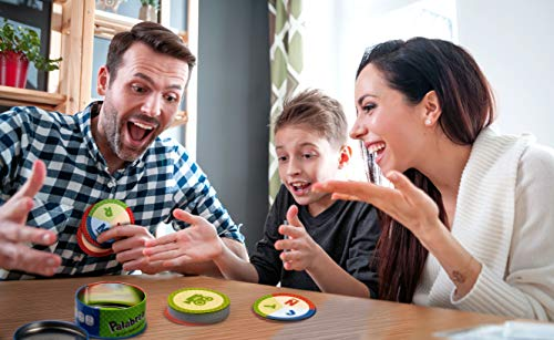 Palabrea, Juego educativo en familia de agilidad mental, Desarrollo del lenguaje (Lúdilo)
