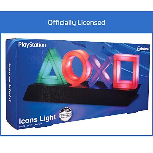 """Paladone PP4140PS,  Lámpara """"PlayStation"""", Multicolor"""