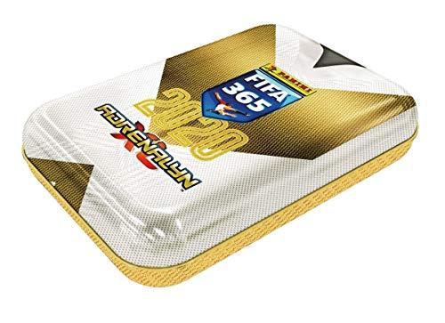 Panini 000856 Adrenalyn XL - Juego de tarjetas coleccionables para FIFA 365, temporada 2019/2020, lata pequeña con 4 cartas limitadas, 6 cartas por Booster, multicolor , color/modelo surtido