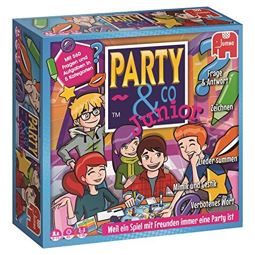 Party & Co. Junior Niños y adultos Juego de mesa de carreras - Juego de tablero (Juego de mesa de carreras, Niños y adultos, 45 min, Niño/niña, 8 año(s), 13 año(s)). Versión alemana