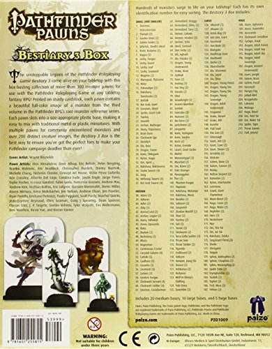 Pathfinder Pawns: Bestiary 3 Box